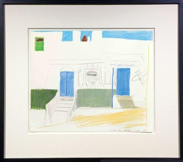 David Hockney, 'House in Aswan', 1978, Jonathan Novak Contemporary Art