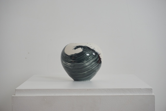 , 'Small Porcelain Vessel ,' 2018, Henry Saywell