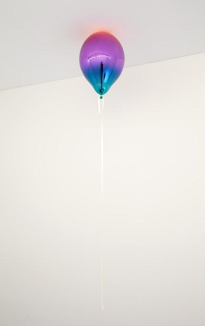 , 'Light Red, Medium Violet and Dark Turquoise Mirror Balloon,' 2019, Galleri Nicolai Wallner