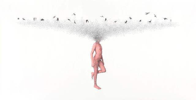 , 'Walking on Dream #4,' 2019, Muriel Guépin Gallery