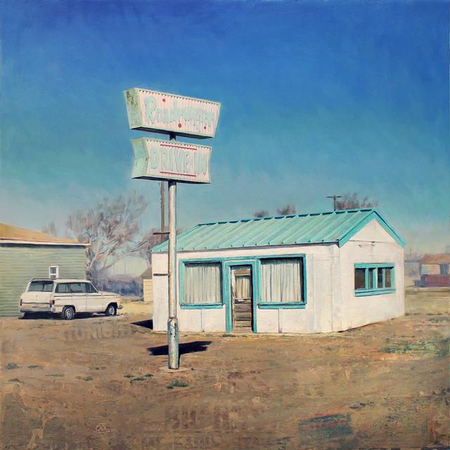 , 'Roadrunner Drive-In,' 2018, Sue Greenwood Fine Art