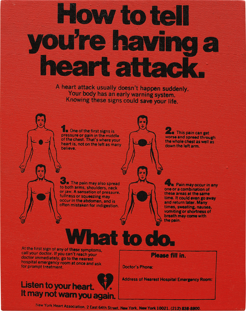 Andy Warhol, 'Valentine's Hearts Ads ( ... Having a Heart Attack)', ca. 1982-1983, Phillips