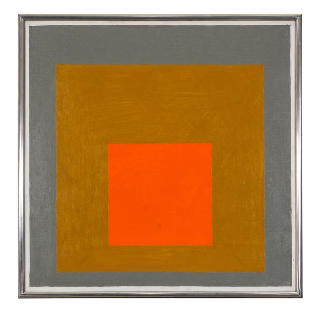 , 'Homage to the square,' 1961, Lorenzelli arte