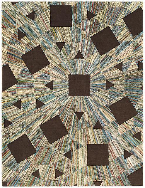 , '[3(3)4(2); (3(2)4.3.4)2],' 2018, Richard Heller Gallery