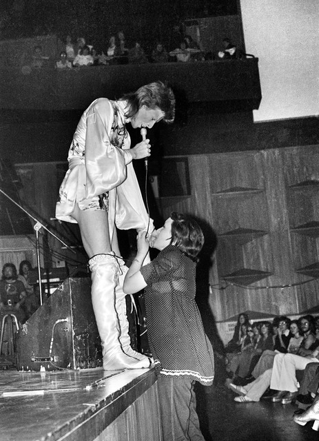 , 'Bowie, Girl Kissing Hand,' 1973, TASCHEN