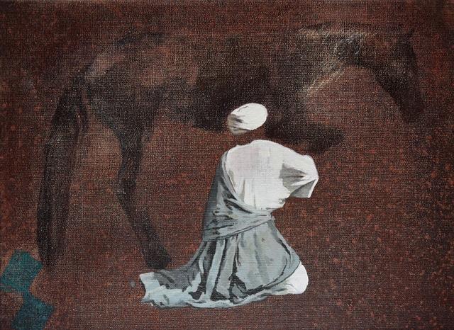 , 'Début,' 2014, L'Atelier 21