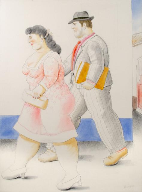 , 'The Street,' 2010, David Benrimon Fine Art