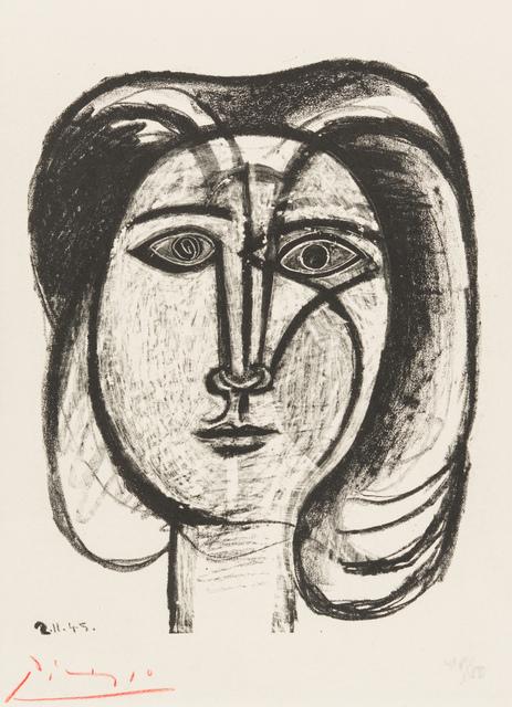 Pablo Picasso, 'Head of a Woman', 1945, Christopher-Clark Fine Art