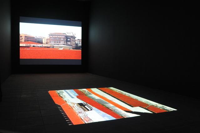 , 'In the Courtyard,' 2002, Akinci