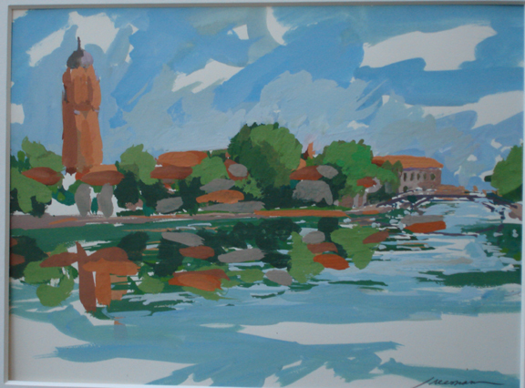 , 'Along the Canal (Venice),' , Zenith Gallery
