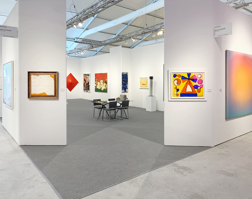 Installation view: Hollis Taggart, Art Miami, Booth AM321