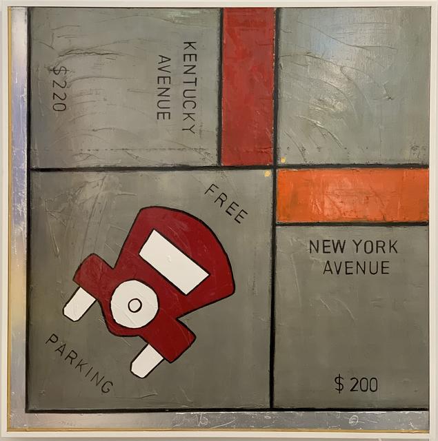 Guy Stanley Philoche, 'Monopoly Free Parking, Silver', 2018, Cavalier Ebanks Galleries