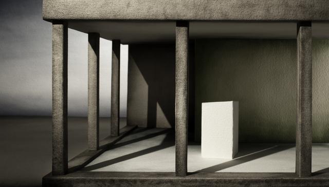 , 'Studio per un'Annunciazione (Beato Angelico),' 2016, Antonia Jannone Disegni di Architettura