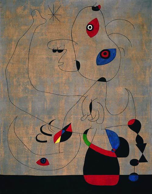 Joan Miró, 'Danseuse espagnole (Spanish Dancer)', 1945, Fondation Beyeler