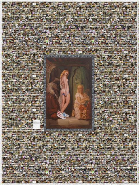 , 'Oriental Bath or Bunnies R Us,' 2013, Leila Heller Gallery