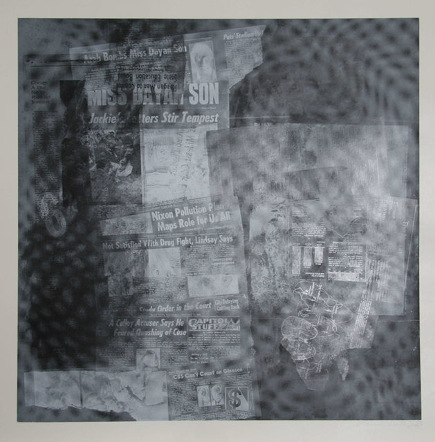 Robert Rauschenberg, 'Surface Series from Currents, #37', 1970, Heritage Auctions