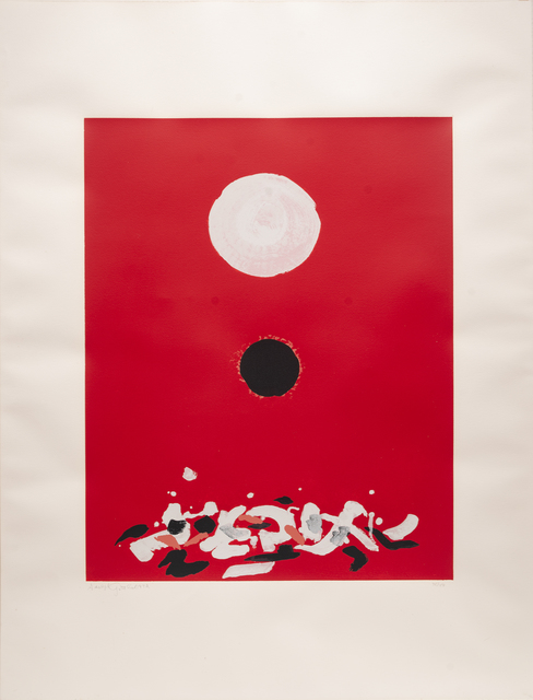 Adolph Gottlieb, 'Crimson Ground', 1972, Peyton Wright Gallery