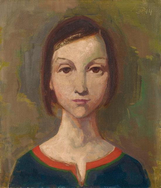 , 'Mädchenbildnis,' 1944, Ludorff