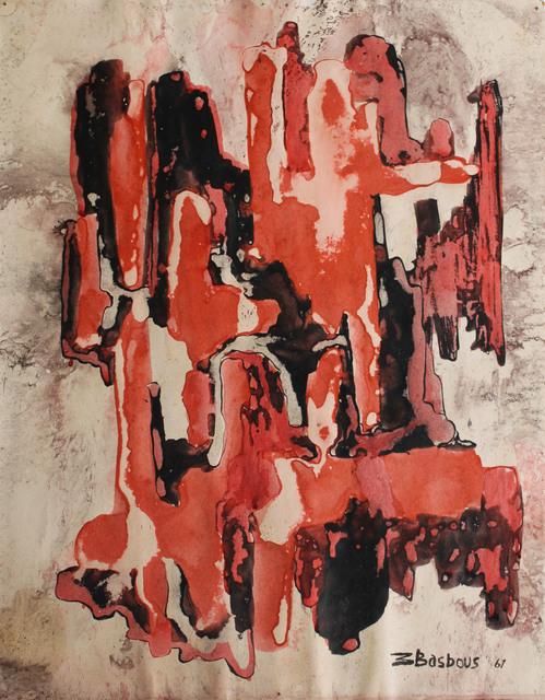 Michel Basbous, 'Untitled', 1961, Agial Art Gallery