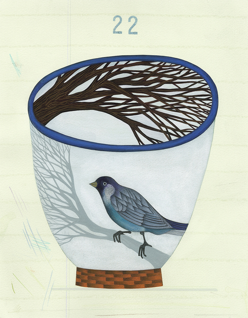 , 'Cup # 22,' 2010, The Schoolhouse Gallery