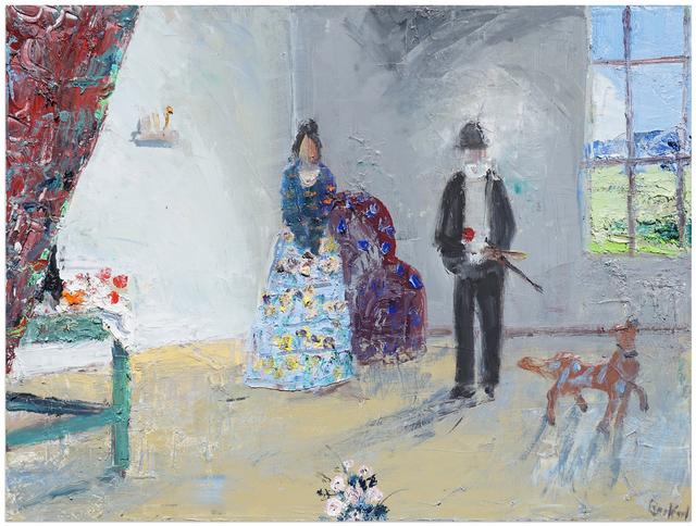 John Bradford, 'Hortense and Paul Cézanne', 2018, Anna Zorina Gallery