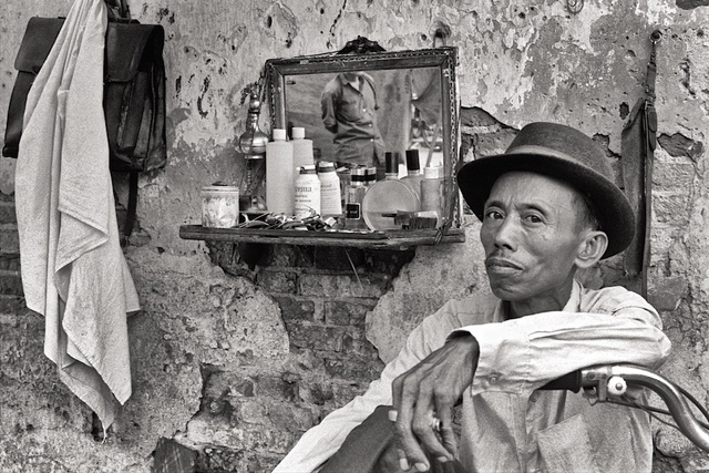 , 'Sidewalk Barber Saigon 1970,' , Soho Photo Gallery