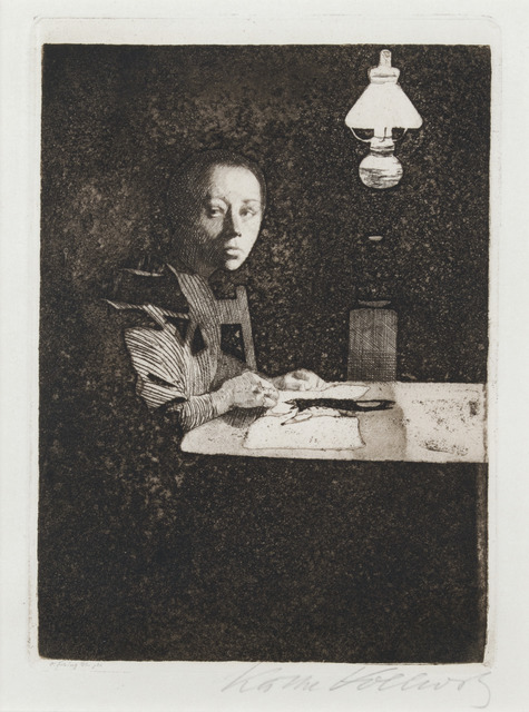 , 'Self-Portrait at the Table,' ca. 1900, Galerie St. Etienne
