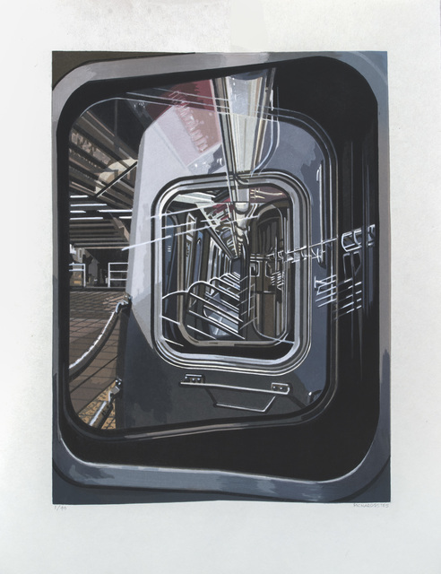 , 'The L Train,' 2017, Marlborough Gallery