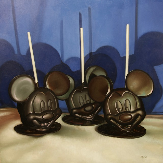 , 'The 3 Mouseketeers,' 2018, Woodward Gallery