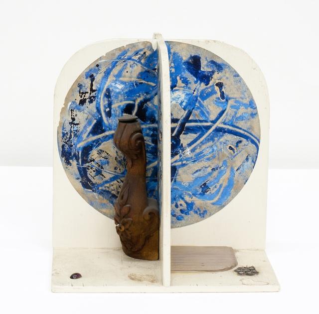 , 'Wooden Moonbeam #1 (blue circle),' 1969, Moran Moran