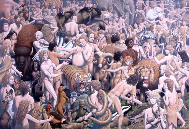 , 'NOT EXACTLY PEACEABLE KINGDOM,' , La Luz de Jesus Gallery