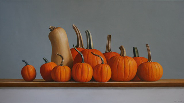 , 'Squash and Pumpkins,' 2016, Gallery Henoch