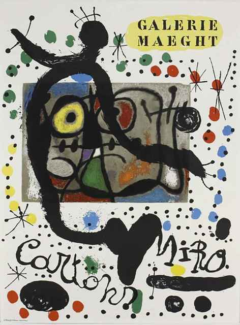 Joan Miró, 'Miro Cartons at Galerie Maeght', 1965, Leviton Fine Art