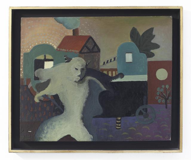 Emilia Gutiérrez, 'El paseo del Diablo', 1974, Painting, Oil on canvas, Cosmocosa