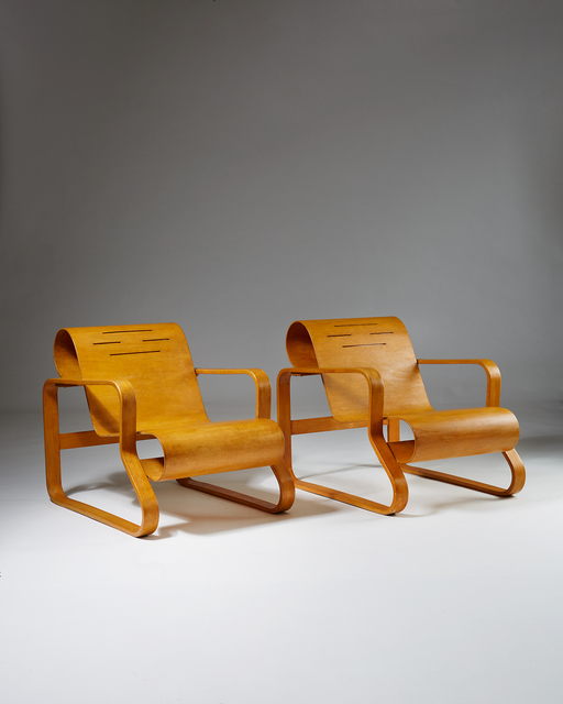 , 'Pair of Armchairs Paimio number 41,' 1931-1932, Modernity