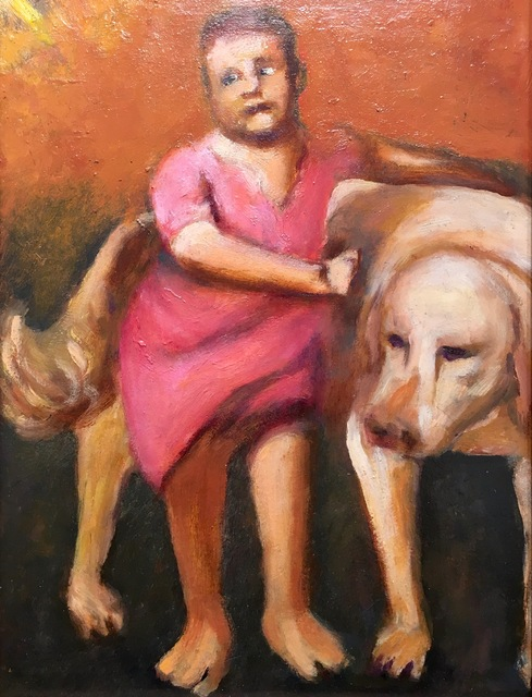 , 'Boy with a Dog (After Titian),' 2014, Gallery NAGA