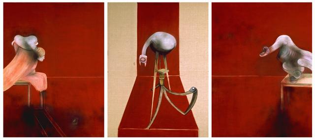 , 'Second Version of Triptych 1944,' 1988, ARoS Aarhus Art Museum
