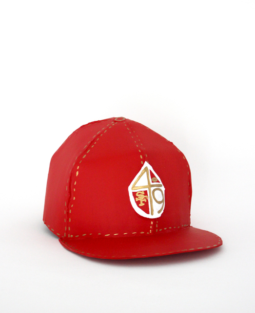 , '49ers Hat,' 2018, Galerie Droste