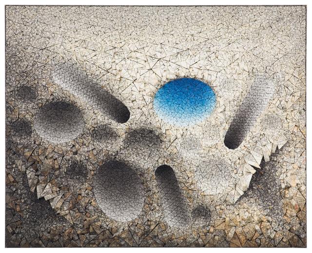 , 'Aggregation 12 -JA002 Blue,' 2012, Osborne Samuel