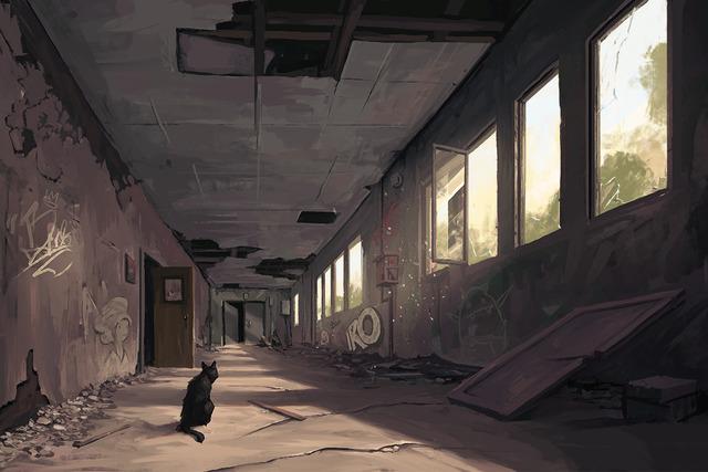Clay Brooks, 'Hallway', 2018, Helikon Gallery & Studios