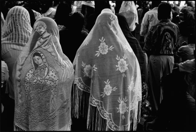 John Mack, 'Congregants at an Outdoor Mass near Tiacochahuaya, Oaxaca, Mexico', 2005, Robert Mann Gallery