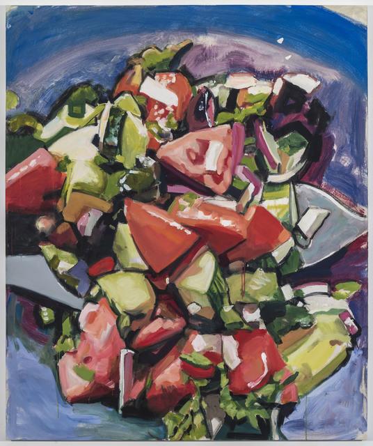 , 'Joy's Salad,' 2018, Johannes Vogt Gallery