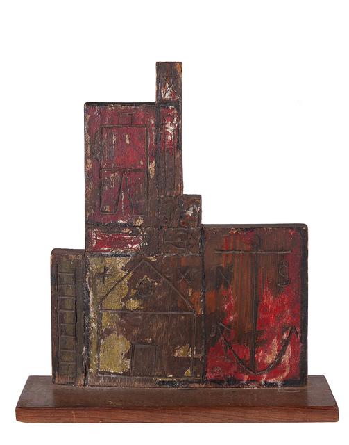 , 'Constructivo con Hombre y objecto,' 1930, Galería Guillermo de Osma