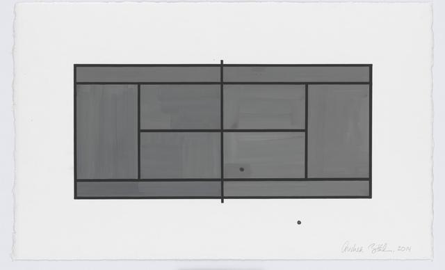 , 'Court #3,' 2014, New Art Centre