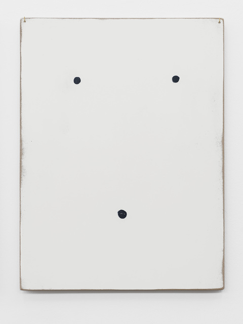 , 'Thoughts collected on the surface of a panel (The Face),' 2013, Supportico Lopez