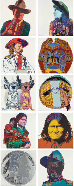 Andy Warhol, 'Cowboys and Indians', 1986, Phillips