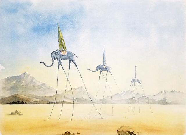 Salvador Dalí, 'Trois Elephants (The Three Elephants)', 1974, Baterbys