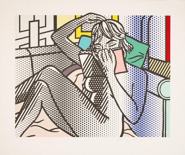 """Roy Lichtenstein, 'Nude Reading (from """"Nudes"""" (C 282 - 290))', 1994, Galerie Boisseree"""