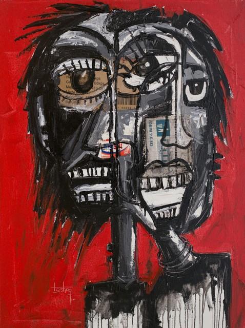 , 'Unknown Faces No. 8,' 2018, Nicholas Roman Fine Art