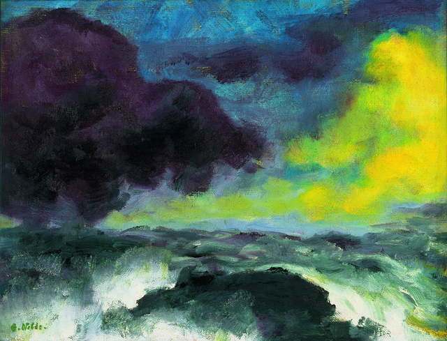, 'Bewegtes Meer,' 1948, Louisiana Museum of Modern Art